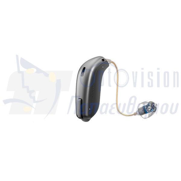 Ακουστικά Βαρηκοΐας oticon opn minirit γκρί σκούρο