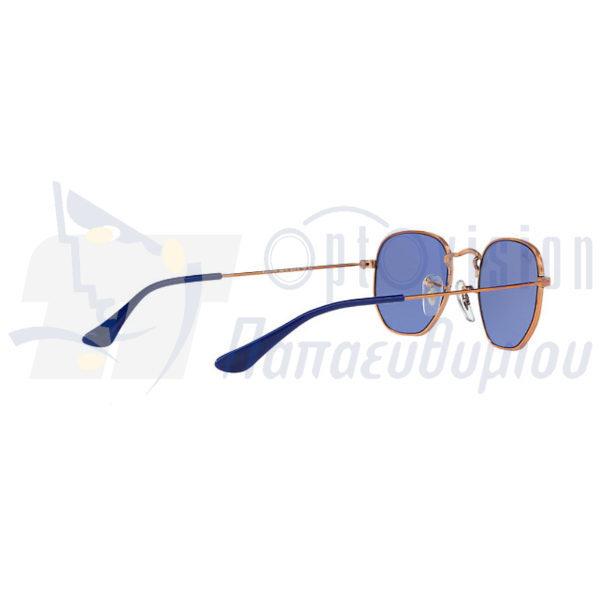Παιδικά γυαλιά ηλίου Ray-Ban Junior rj 9541SN 264 1U από τα Οπτικά Παπαευθυμίου στο κέντρο της Αθήνας και στο Χαλάνδρι