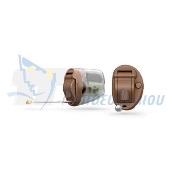 ακουστικά βαρηκοΐας οticon Nera2 IIC Pro καφέ-διαφανές
