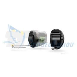 ακουστικά βαρηκοΐας οticon Nera2 IIC Pro μαύρο-διαφανές