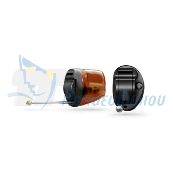 ακουστικά βαρηκοΐας οticon Nera2 IIC Pro μαύρο-καφέ