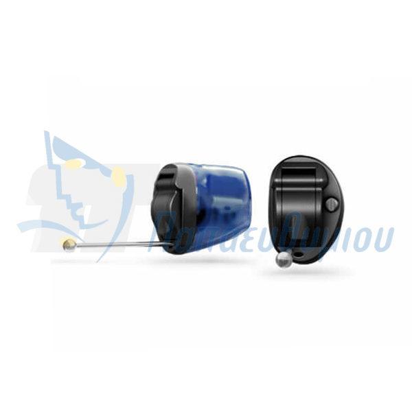 ακουστικά βαρηκοΐας οticon Nera2 IIC Pro μαύρο-μπλε