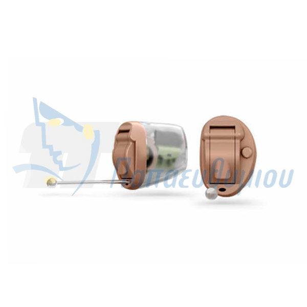 ακουστικά βαρηκοΐας οticon Nera2 IIC Pro μπεζ-διαφανές