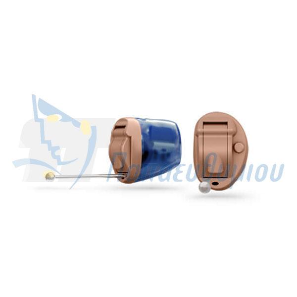 ακουστικά βαρηκοΐας οticon Nera2 IIC Pro μπεζ-μπλε