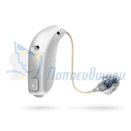 ακουστικά βαρηκοΐας οticon Nera2 miniRITE ασημι