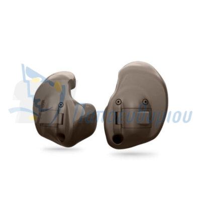 ακουστικά βαρηκοΐας Oticon Alta2 ITE Full Shell-Pro καφέ σκούρο
