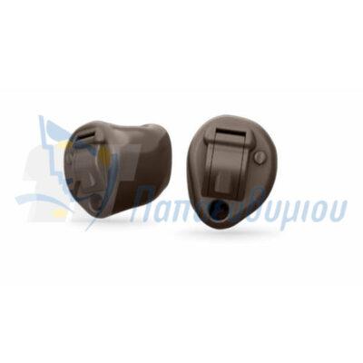 ακουστικά βαρηκοΐας Oticon Alta2 ITE Half Shell-Pro καφέ σκούρο