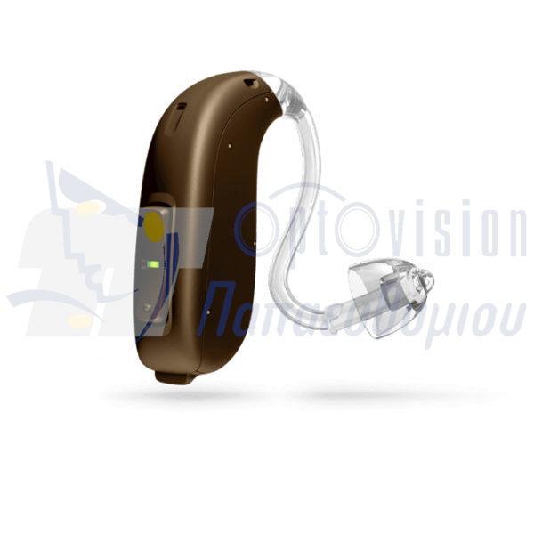 ακουστικό βαρηκοΐας Oticon Opn BTE13 PP καφέ σκούρο