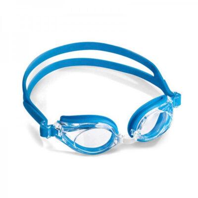 Αθλητικά Γυαλιά κολύμβησης παιδικά γαλάζια για πισίνα ή θάλασσα με μυωπία υπερμετρωπία